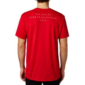 Fox Contended Koszulka Mężczyźni czerwony